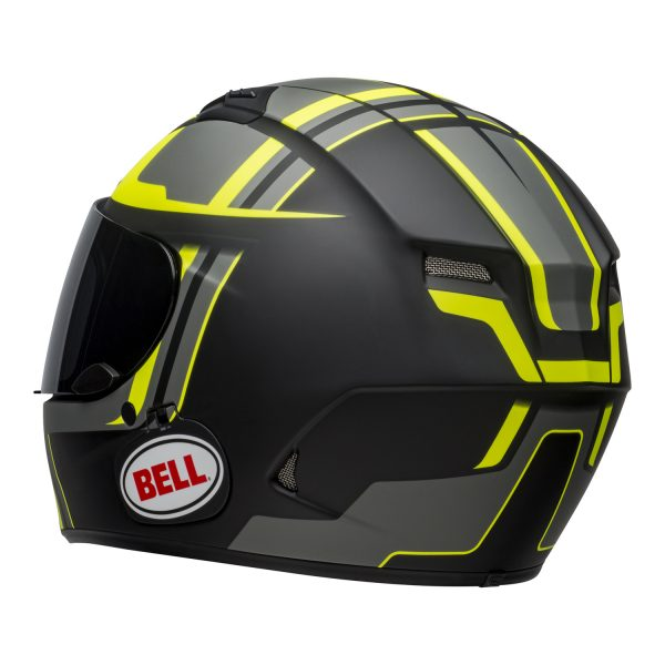 bell-qualifier-dlx-mips-street-helmet-torque-matte-black-hi-viz-back-left-BELL QUALIFIER DLX MIPS TORQUE MATT BLACK HI-VIZ