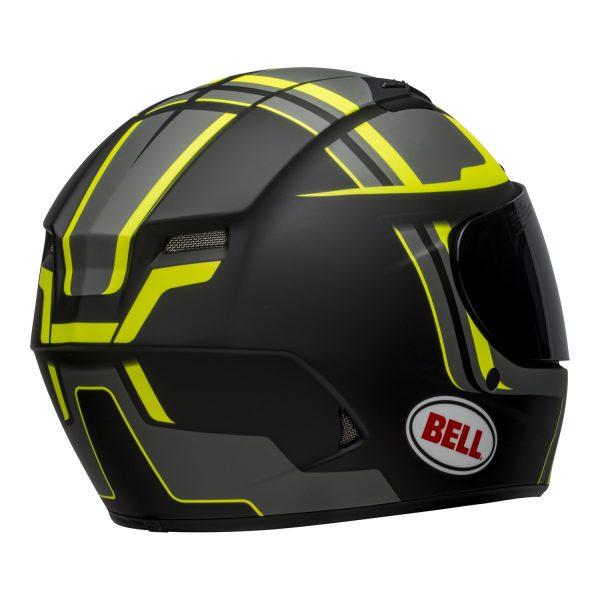 bell-qualifier-dlx-mips-street-helmet-torque-matte-black-hi-viz-back-right-BELL QUALIFIER DLX MIPS TORQUE MATT BLACK HI-VIZ