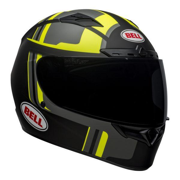 bell-qualifier-dlx-mips-street-helmet-torque-matte-black-hi-viz-front-right-BELL QUALIFIER DLX MIPS TORQUE MATT BLACK HI-VIZ