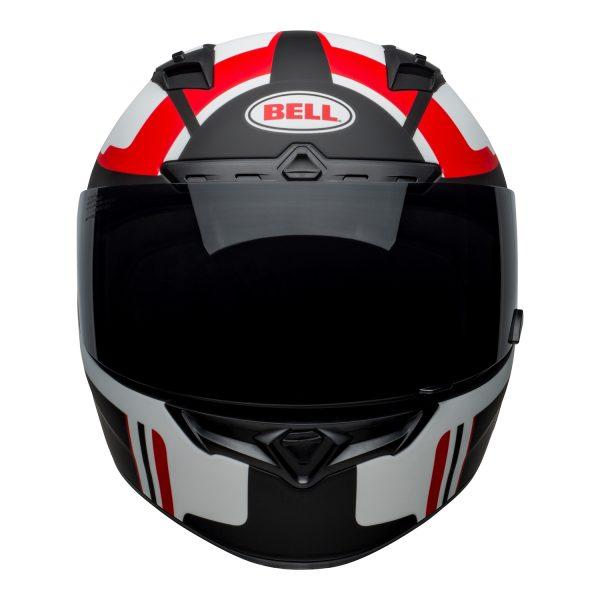 bell-qualifier-dlx-mips-street-helmet-torque-matte-black-red-front.jpg-BELL QUALIFIER DLX MIPS TORQUE MATT BLACK RED