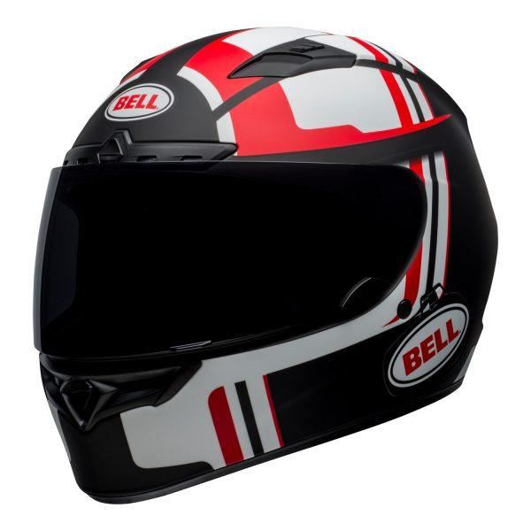 bell-qualifier-dlx-mips-street-helmet-torque-matte-black-red-front-left-BELL QUALIFIER DLX MIPS TORQUE MATT BLACK RED