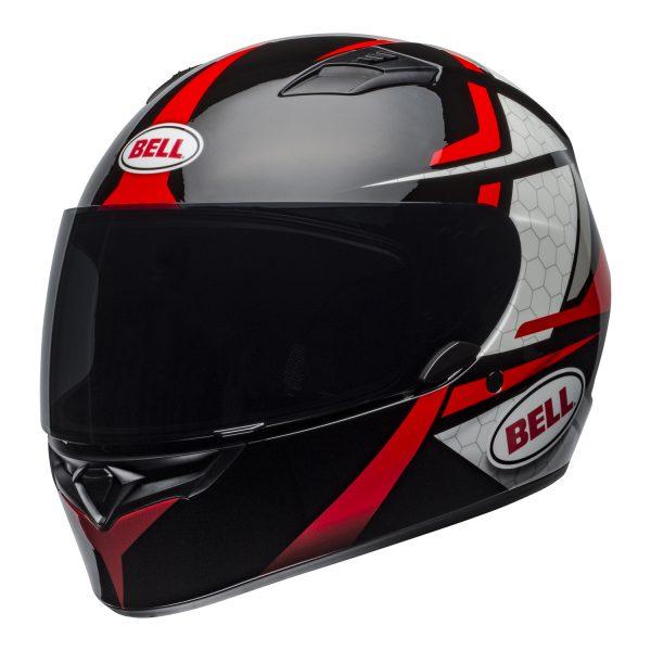 bell-qualifier-street-helmet-flare-gloss-black-red-front-left.jpg-BELL QUALIFIER STD FLARE GLOSS BLACK RED