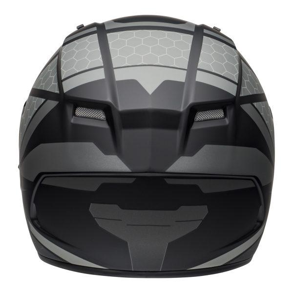 bell-qualifier-street-helmet-flare-matte-black-gray-back-BELL QUALIFIER STD STEALTH CAMO MATT BLACK WHITE