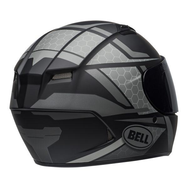 bell-qualifier-street-helmet-flare-matte-black-gray-back-right-BELL QUALIFIER STD STEALTH CAMO MATT BLACK WHITE