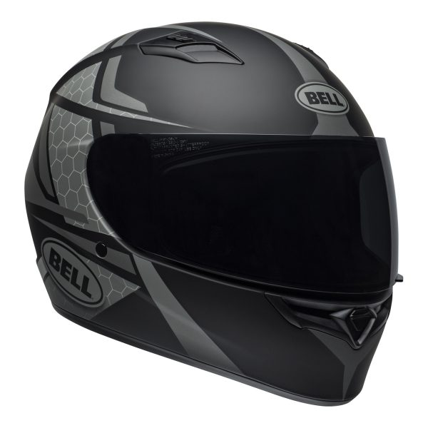 bell-qualifier-street-helmet-flare-matte-black-gray-front-right.jpg-BELL QUALIFIER STD FLARE MATT GREY BLACK