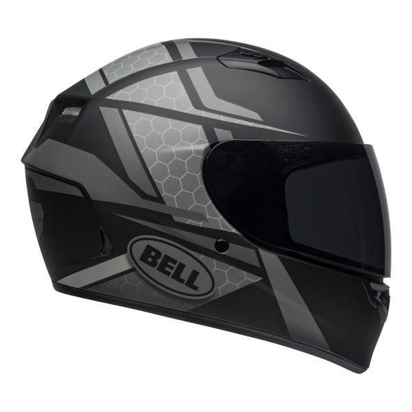 bell-qualifier-street-helmet-flare-matte-black-gray-right-BELL QUALIFIER STD STEALTH CAMO MATT BLACK WHITE