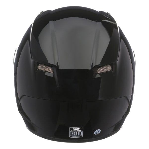 bell-qualifier-street-helmet-gloss-black-back-BELL QUALIFIER STD STEALTH CAMO MATT BLACK WHITE