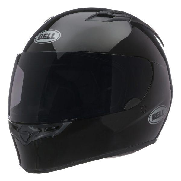 bell-qualifier-street-helmet-gloss-black-front-left-BELL QUALIFIER STD STEALTH CAMO MATT BLACK WHITE