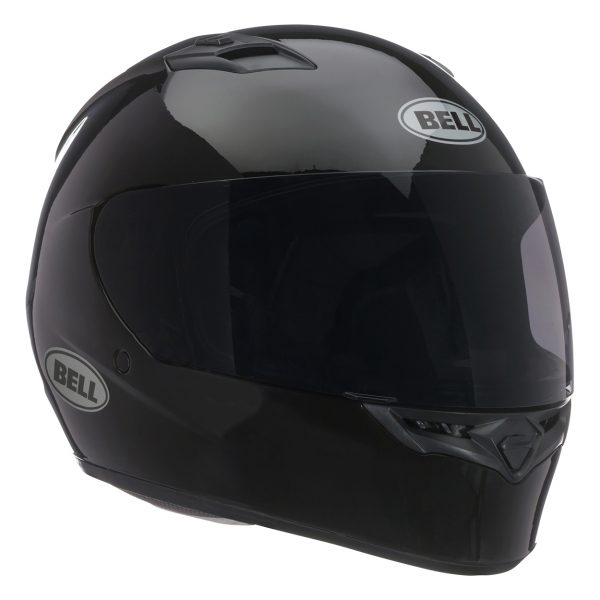 bell-qualifier-street-helmet-gloss-black-front-right-BELL QUALIFIER STD STEALTH CAMO MATT BLACK WHITE