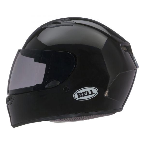 bell-qualifier-street-helmet-gloss-black-left-BELL QUALIFIER STD STEALTH CAMO MATT BLACK WHITE