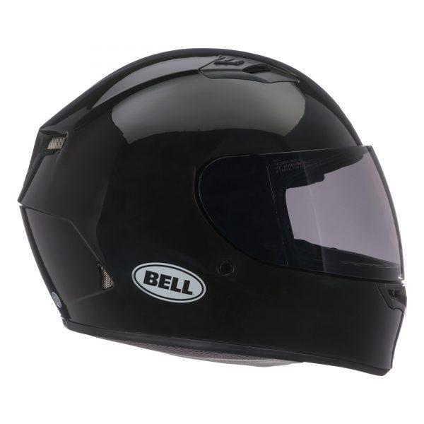 bell-qualifier-street-helmet-gloss-black-right-BELL QUALIFIER STD STEALTH CAMO MATT BLACK WHITE