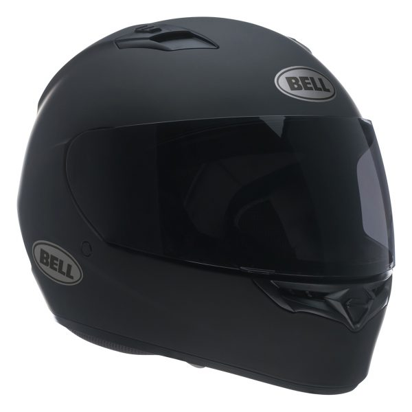 bell-qualifier-street-helmet-matte-black-front-right-BELL QUALIFIER STD STEALTH CAMO MATT BLACK WHITE