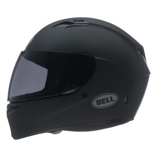 bell-qualifier-street-helmet-matte-black-left-BELL QUALIFIER STD STEALTH CAMO MATT BLACK WHITE