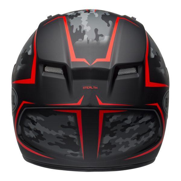bell-qualifier-street-helmet-stealth-camo-matte-black-red-back-BELL QUALIFIER STD STEALTH CAMO MATT BLACK WHITE