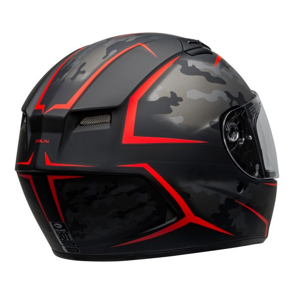 bell-qualifier-street-helmet-stealth-camo-matte-black-red-clear-shield-back-right-BELL QUALIFIER STD STEALTH CAMO MATT BLACK WHITE