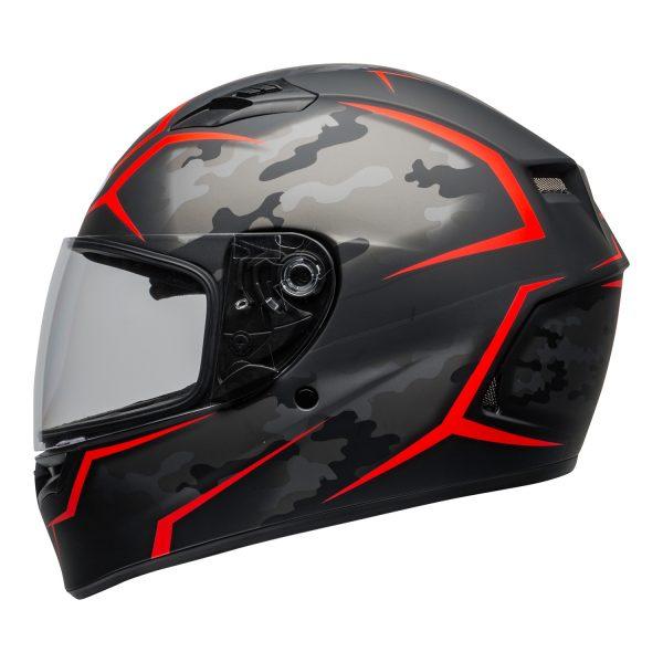 bell-qualifier-street-helmet-stealth-camo-matte-black-red-clear-shield-left-BELL QUALIFIER STD STEALTH CAMO MATT BLACK WHITE
