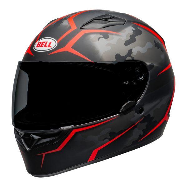 bell-qualifier-street-helmet-stealth-camo-matte-black-red-front-left-BELL QUALIFIER STD STEALTH CAMO MATT BLACK WHITE