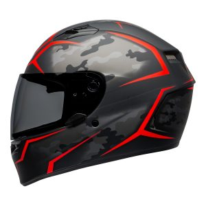 BELL QUALIFIER STD STEALTH CAMO MATT BLACK RED