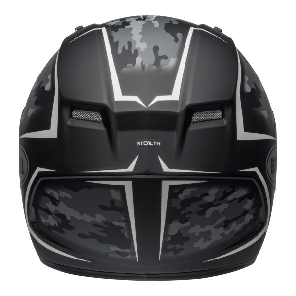 bell-qualifier-street-helmet-stealth-camo-matte-black-white-back-BELL QUALIFIER STD STEALTH CAMO MATT BLACK WHITE