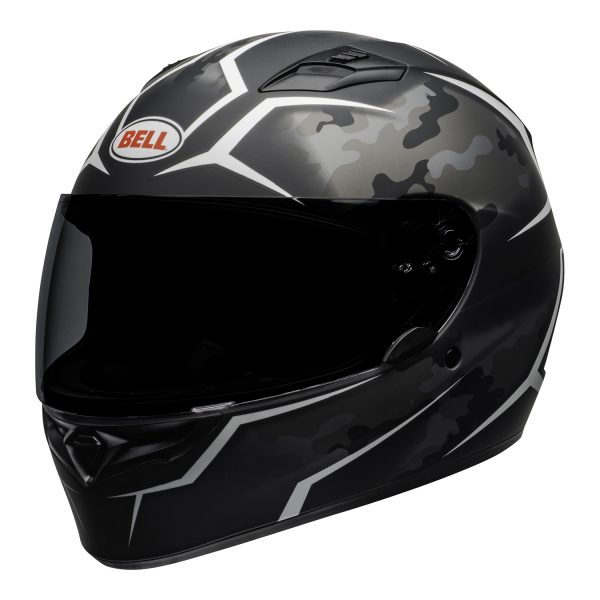 bell-qualifier-street-helmet-stealth-camo-matte-black-white-front-left-BELL QUALIFIER STD STEALTH CAMO MATT BLACK WHITE