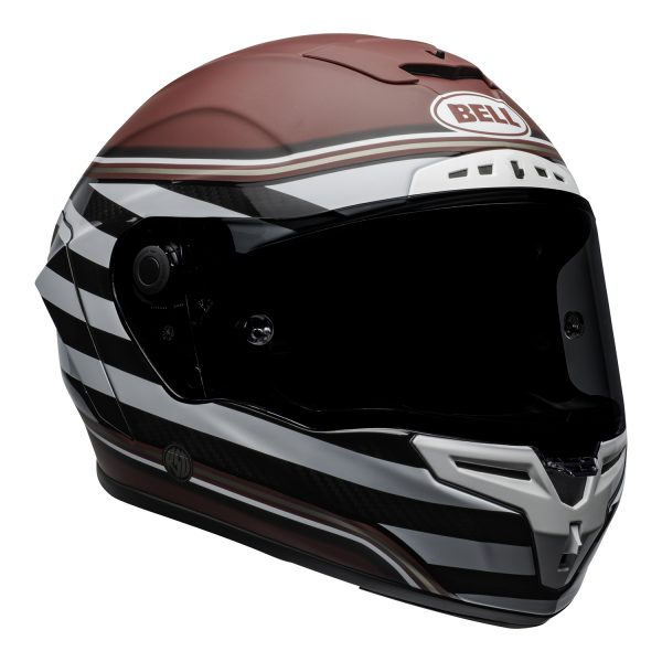 bell-race-star-flex-dlx-ece-street-helmet-rsd-the-zone-matte-gloss-white-candy-red-front-right.jpg-Bell Street 2021 Race Star DLX Adult Helmet (RSD The Zone M/G White/Candy Red)