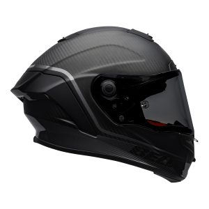 Bell Street 2021 Race Star DLX Adult Helmet (Velocity M/G Black)