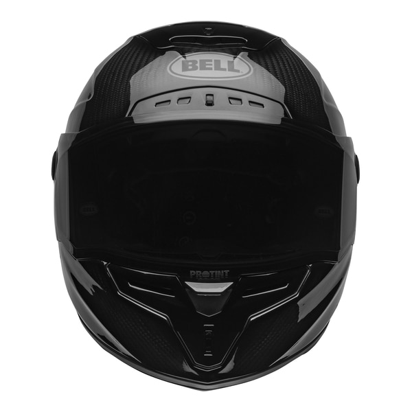 bell-race-star-flex-dlx-street-helmet-carbon-lux-matte-gloss-black-red-front-clear-shield__92905.1601545019.jpg-Bell Street 2021 Race Star Flex DLX Adult Helmet (Lux M/G Black/Red)