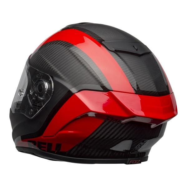 bell-race-star-flex-dlx-street-helmet-tantrum-2-matte-gloss-gray-red-back-left-clear-shield__08361.1601545242.jpg-BELL RACE STAR FLEX TANTRUM 2 MATT GLOSS BLACK RED