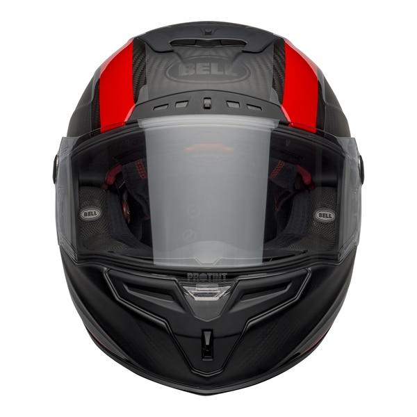bell-race-star-flex-dlx-street-helmet-tantrum-2-matte-gloss-gray-red-front-clear-shield__14120.1601545242.jpg-BELL RACE STAR FLEX TANTRUM 2 MATT GLOSS BLACK RED