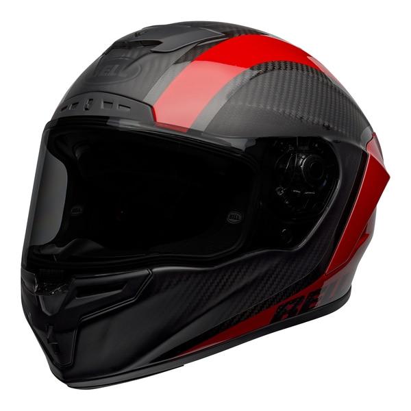 bell-race-star-flex-dlx-street-helmet-tantrum-2-matte-gloss-gray-red-front-left__24573.1601545242.jpg-BELL RACE STAR FLEX TANTRUM 2 MATT GLOSS BLACK RED