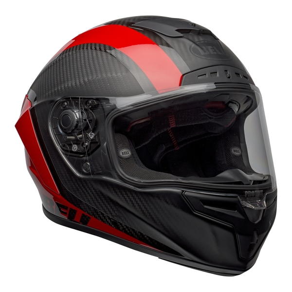 bell-race-star-flex-dlx-street-helmet-tantrum-2-matte-gloss-gray-red-front-right-clear-shield__63159.1601545243.jpg-BELL RACE STAR FLEX TANTRUM 2 MATT GLOSS BLACK RED