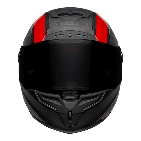 bell-race-star-flex-dlx-street-helmet-tantrum-2-matte-gloss-gray-red-front__94643.1601545242.jpg-BELL RACE STAR FLEX TANTRUM 2 MATT GLOSS BLACK RED