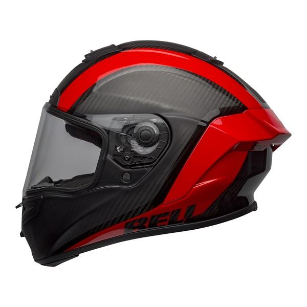 bell-race-star-flex-dlx-street-helmet-tantrum-2-matte-gloss-gray-red-left-clear-shield__96516.1601545242.jpg-BELL RACE STAR FLEX TANTRUM 2 MATT GLOSS BLACK RED