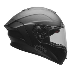 Bell Street 2021 Race Star DLX Adult Helmet (Solid Matte Black)