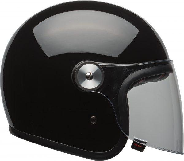 bell-riot-culture-helmet-gloss-black-clear-shield-right-BELL RIOT SOLID MATT BLACK
