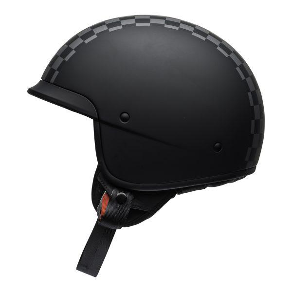 bell-scout-air-cruiser-helmet-check-matte-black-white-left.jpg-Bell Crusier 2021 Scout Air Adult Helmet (Check Matte Black/White)