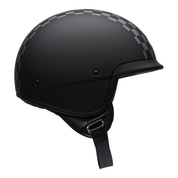 bell-scout-air-cruiser-helmet-check-matte-black-white-right.jpg-Bell Crusier 2021 Scout Air Adult Helmet (Check Matte Black/White)