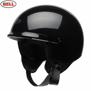 Bell 2021 Cruiser Scout Air Adult Helmet (Gloss Black)