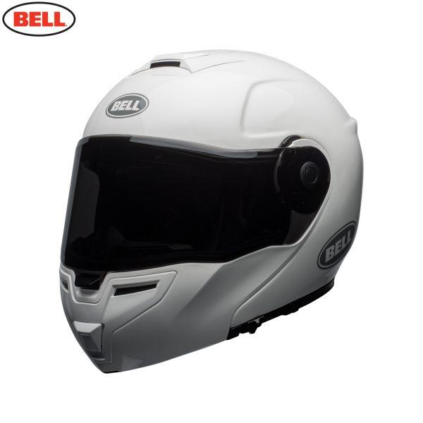 bell-srt-modular-street-helmet-gloss-white-fl-BELL SRT MODULAR TRANSMIT GLOSS HI VIZ