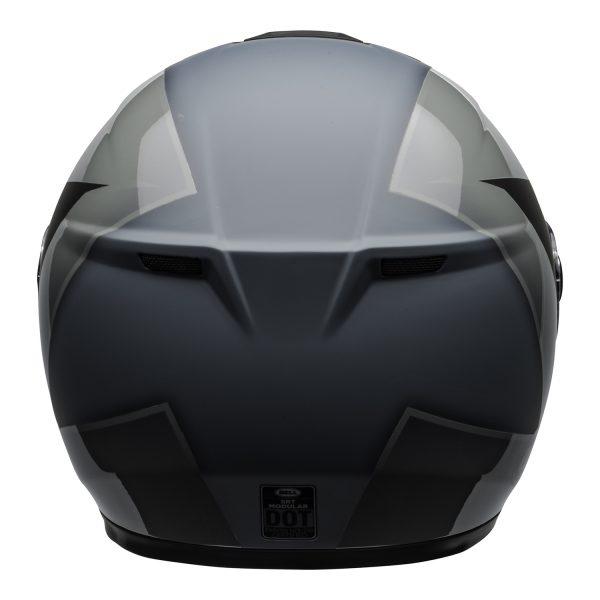 bell-srt-modular-street-helmet-presence-matte-gloss-black-gray-back-BELL SRT MODULAR TRANSMIT GLOSS HI VIZ