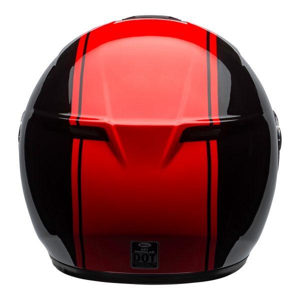 bell-srt-modular-street-helmet-ribbon-gloss-black-red-back-BELL SRT MODULAR TRANSMIT GLOSS HI VIZ