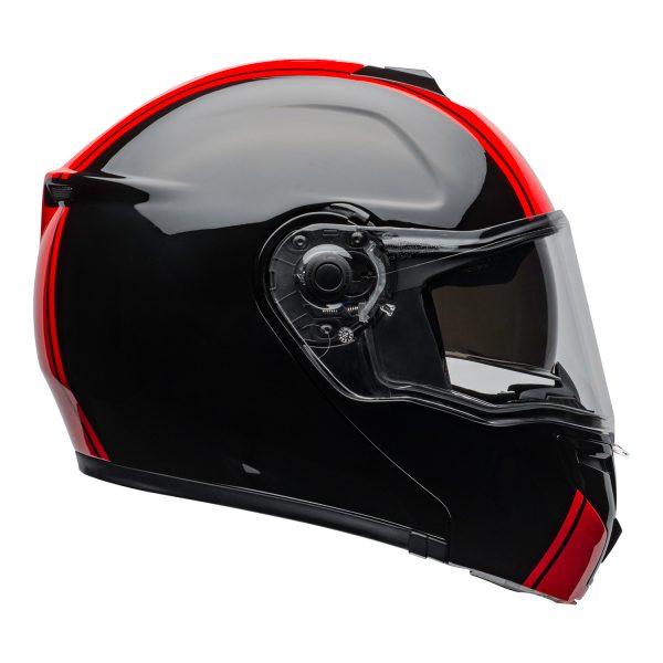 bell-srt-modular-street-helmet-ribbon-gloss-black-red-clear-shield-right.jpg-BELL SRT MODULAR RIBBON GLOSS BLACK RED