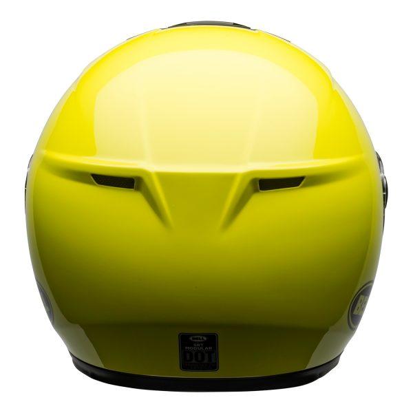 bell-srt-modular-street-helmet-transmit-gloss-hi-viz-back-BELL SRT MODULAR TRANSMIT GLOSS HI VIZ