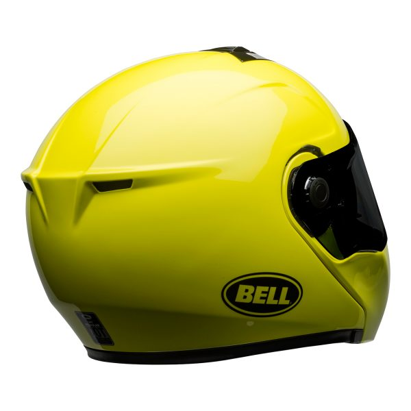 bell-srt-modular-street-helmet-transmit-gloss-hi-viz-back-right-BELL SRT MODULAR TRANSMIT GLOSS HI VIZ
