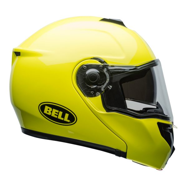 bell-srt-modular-street-helmet-transmit-gloss-hi-viz-clear-shield-right.jpg-BELL SRT MODULAR TRANSMIT GLOSS HI VIZ