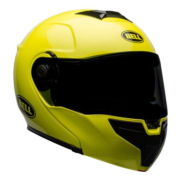 bell-srt-modular-street-helmet-transmit-gloss-hi-viz-front-right.jpg-BELL SRT MODULAR TRANSMIT GLOSS HI VIZ