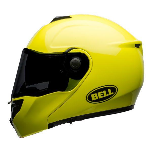 bell-srt-modular-street-helmet-transmit-gloss-hi-viz-left.jpg-BELL SRT MODULAR TRANSMIT GLOSS HI VIZ