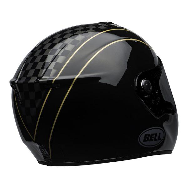 bell-srt-street-helmet-buster-gloss-black-yellow-gray-back-right-BELL SRT GLOSS BLACK