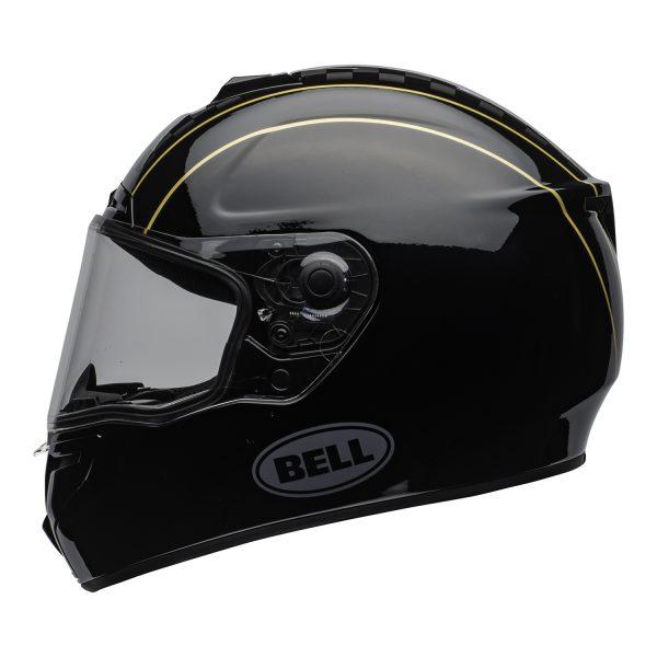 bell-srt-street-helmet-buster-gloss-black-yellow-gray-clear-shield-left-BELL SRT GLOSS BLACK