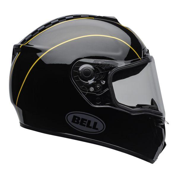 bell-srt-street-helmet-buster-gloss-black-yellow-gray-clear-shield-right-BELL SRT GLOSS BLACK